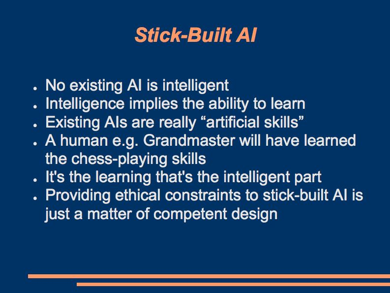 the ethics of artificial intelligence essay Artificial intelligence social ethical and professional issues information technology essay artificial intelligence is the engineering of making intelligent machines such as computer.